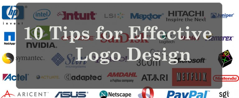 10 Tips for Effective Logo Design