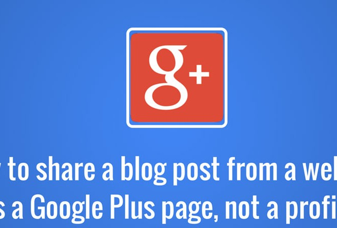 How to use Google+ to Promote your Website & Blog