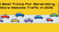 5 Best Tricks For Generating More Website Traffic In 2016