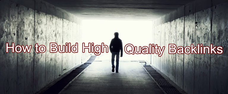 How to Build High-Quality Backlinks when Nobody Knows Your Name